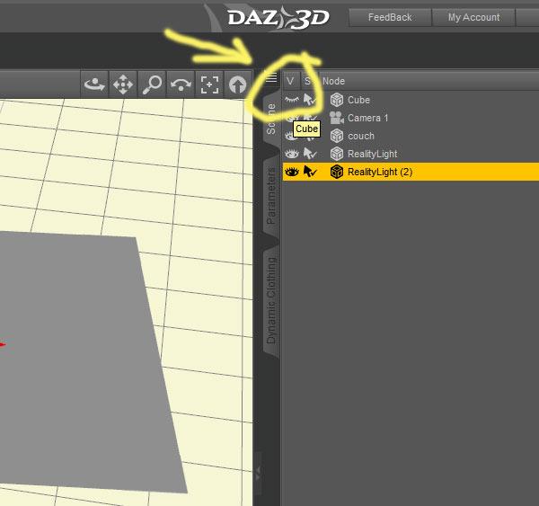 Tako Yakida World - CG art using DAZ Studio Hexagon Carrara